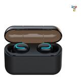 Auriculares  Inalambricos Bluetooth Con Power Bank Hbq-q32