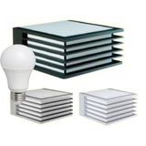 Aplique Pared Exterior Bidireccional Con Foco Led 9w O 10w