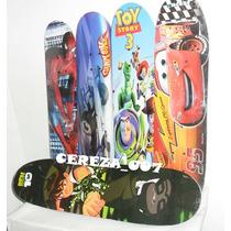 Patineta Skate De 4 Ruedas De Hombre Araña Cars Ben 10 Toy S