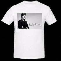 Remera Paul Mccartney - The Beatles-