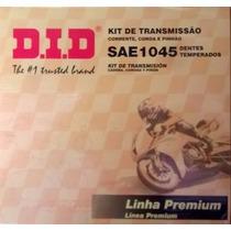Kit Transmisión Honda Cg 125 Fan Did Original C/cadena Ryd