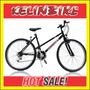 Bicicleta Mountain Bike Kellinbike R26 Cuadro Varon Negro