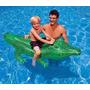 Cocodrilo Inflable Intex Para El Agua 1.68m X 86cm Oferta!!!