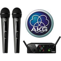 Microfono Inalambrico Doble Akg Wms40mini 2 Tecnomixmerlo