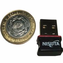 Antena Wifi Placa Usb Nisuta Ns-wiu153n Nano 150mbps Norma N