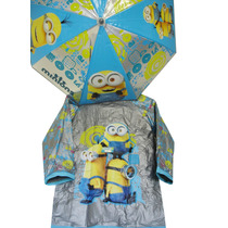 Piloto + Paraguas Minions Disney Original Entrega Inmediata