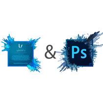 Photoshop Adobe + Lightroom Adobe Cc Licencias Español Full