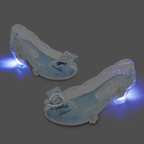 Zapatos C Luz Princesa Cenicienta Disney Store Usa Original