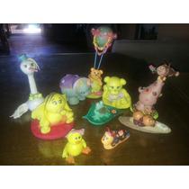 Muñecos P/ Torta En Porcelana Fria, Lote Por 9 Animalitos