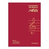 Cuaderno De Música Pentagramado Melos Mel54