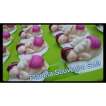 Bebes Colita De Porcelana Fría! Souvenir Nacimiento Con Alas