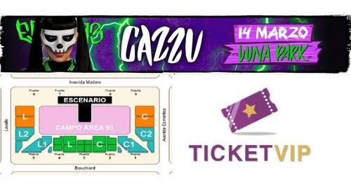 Entradas Cazzu Campo Mercadolider Agencia