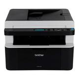 Impresora Multifunción Brother Dcp-1 Series Dcp-1617nw 110v/220v Negra