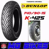 Cubierta Moto 140 90 15 Dunlop K425 Custom Solo En Mg Bikes