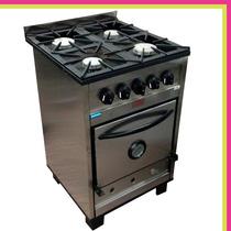 Cocina Industrial Tecnocalor 4 Hornallas 55 Cm Super Oferta!