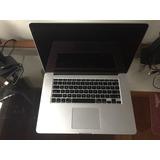 Macbook Pro Retina 15 I7 2.0 8g 250 Ssd  2013