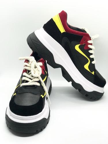 1b2d38fbd9 Zapatilla Sneakers Est Balenciaga Plataforma Colores