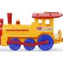 Locomotora Y Vagon Riva Tren Marca Calecita