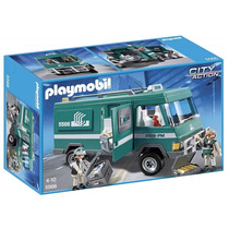 Playmobil 5566 Camion De Caudales