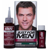 Just For Men Colorante Cabello En Shampoo - Cubre Las Canas