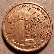 Reino De España 5 Pesetas Conmemorativa Islas Baleares 1997