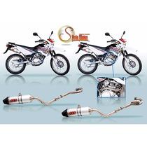 Escape Completo R72 Yamaha Xtz 125 Silviomotos