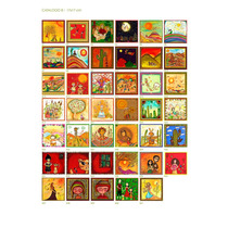 Cuadros Decorativos De Eterno Saludo 17x17
