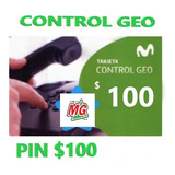 Tarjeta Movistar Control Geo $100 + $10 Stock 24 Hs.