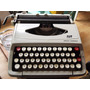 Máquina De Escribir Portátil Smith Corona Funciona Inglesa