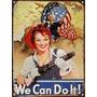 Cartel Chapa We Can Do It! P688