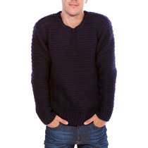 Sweater Lee Chunky Crew Hombre (1077941614)