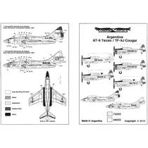 Condor Decals 72055 1/72 Argentine At-6 Texan / Tf-9j Cougar