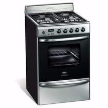Cocina A Gas Longvie Mod. 20501xf - Acero Inox