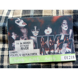 Entradas Recitales Kiss (1994/1997) + 2 Laminas De Cassettes