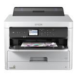 Impresora A Color Epson Workforce Pro Wf-c5290 Con Wifi 100v/240v Blanca Y Gris