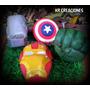 Adorno De Torta En Porcelana Fría Héroes Avengers Vengadores