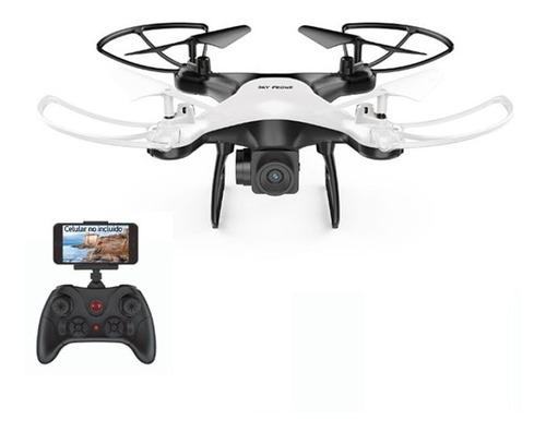 Drone Cuadricoptero Control Wifi Camara Foto Video Hd
