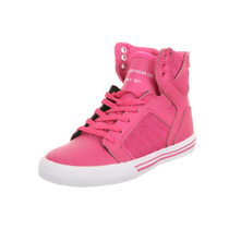 Zapatillas Supra Skytop Girls Crazy Pink - 13c (31 Arg)