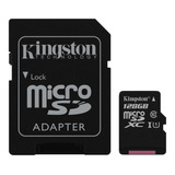 Tarjeta De Memoria Kingston Sdcs Canvas Select 128gb