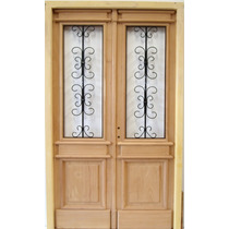 Puerta Antigua Doble De 1.20 X 2.00 - Fabrica -