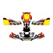 Calcos Para Karting Crg Varios Modelos Laminado Anti Rayas