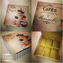 Cajas De Madera Para Saquitos De Te - Vintage & Retro