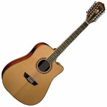 Guitarra Washburn Electroacustica Wd10 Sce 12 Cuerdas
