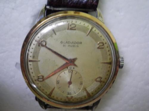 Gladiador Venta Suizo Anda Antiguo Reloj Tressa En Omega 36mm derCxoB