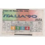 Entrada Mundial 1990 - Argentina Vs Italia Semifinal Unica..