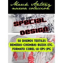 Diseños Textiles 50 U Marc Antony Special ¡¡new Collection!