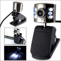 Webcam Camara Seisa Lt-268t 350k Micrófono Led Envio Promo