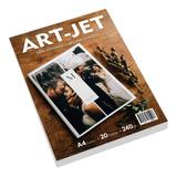 Papel Art-jet® Foto A4 Bifaz Doble Faz 240gr 20 Hojas Glossy