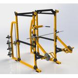 Power Rack   Jaula De Potencia  Dominadas Gym