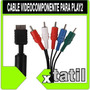 Cable Video Componente Play2 Ps2 Xtatil Belgrano